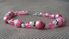 Braceletsfor women/Hand made jewelry/beaded gift for her/pink hand made bracelet / Hand made/Beaded Jewelry /beaded hand made bracelet