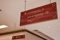 #Wayfinding- #ceilingsign -#shoppingriopoty - Brazil#brazilian design #design#shopping #malls