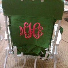 Monogram Beach Chair