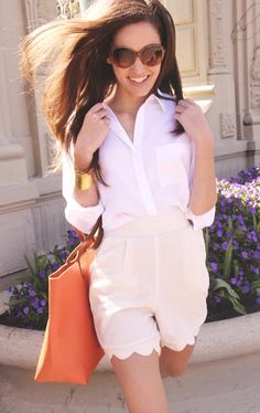 Cuyana In Color Pinterest Campaign: Win Spring styles this week. I love this one. So classic, fresh, effortless and relaxed.