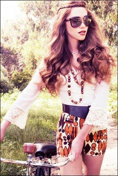 boho chic fashion photos | boho chic