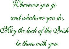 ~Luck of the Irish~