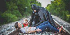 Dad And Son Make Cutest Batman-Robin Duo In Surprise Father's Day Shoot (Photos)