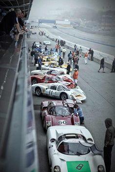 Porsche Motorsport cars