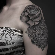 Black Rose Tattoo-5
