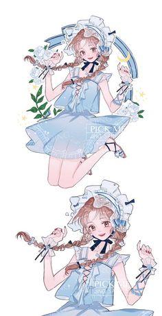 Anime Chibi, Kawaii Chibi, Kawaii Anime Girl, Manga Anime, Manga Girl, Girls Anime, Anime Art Girl, Anime Angel, Anime Comics
