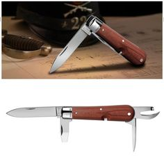 SWISS ARMY KNIFE: WENGER REPLICA OF THE VERY FIRST SWISS ARMY SOLDIERS KNIFE -  are complemented by a true copy of the original technical drawing of the knife, kept carefully for the past 107 years. (PHOTOPRESS / Wenger)