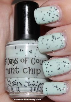 Mint Chip by 365 Days of Color    Adorable!