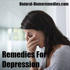 NATURAL HOME REMEDIES FOR DEPRESSION