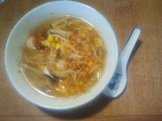 Prawn soup;