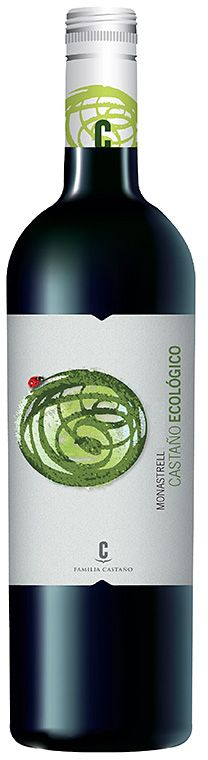 Castaño Monastrell Ecológico de #bodegascastaño design by #girafadigital, www.girafadigital.com