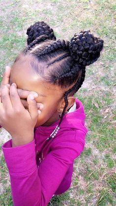Ghana Braids, Little Girls Hairstyles