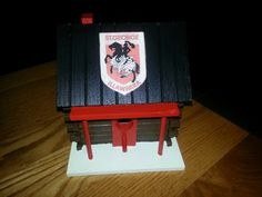 Rugby birdhouse