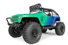 The Axial SCX10 Jeep Wrangler G6 Falken Edition elevates all terrain trailblazing, marrying the celebrated Jeep dovetail body with the undeniable performance of Falken WildPeak M/T tires. This SCX10 was inspired by Falken's dedication to offroad motorsports and the uncontainable spirit for trailblazing that Axial is known for.