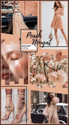 Shades Of Peach, 50 Shades, Fashion 2020, Autumn Fashion, Women's Fashion, Color Me Badd, Color Coordination, Pantone 2020, Color Magic