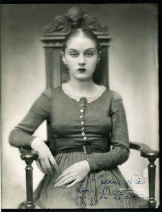 Rena Mandel in Vampyr, directed by Carl Theodor Dreyer, 1930.