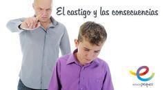 El castigo y las consecuencias en los niños