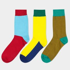 Colorful Cotton Men socks set (3 pairs)-in Socks from Men's Clothing & Accessories on Aliexpress.com   Alibaba Group