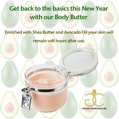 See more at: http://goldencaviarskincare.com/body-butter.html #GCSC #BackToTheBasics #GCSCNewYear #BodyButter