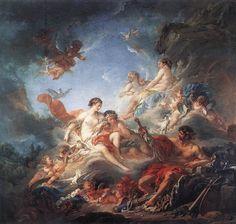 Francois Boucher: Aeneas und Afrodite