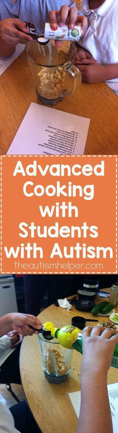 Bring advanced cooking in the classroom with our tips on the blog!! From theautismhelper.com #theautismhelper