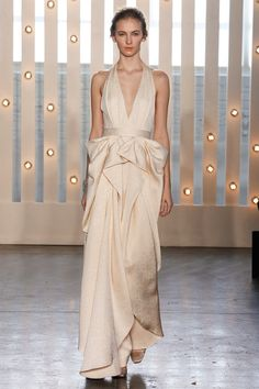 Jenny Packham | Fall 2014 Ready-to-Wear Collection | Style.com [Photo: Marcus Tondo / Indigitalimages.com]