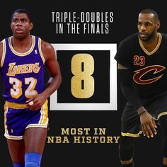 LeBron has tied Magic Johnson for the most triple-doubles in NBA Finalshistory. #dhtk #repre23nt #donthatetheking