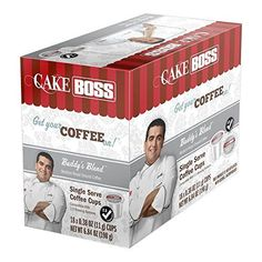 #Cake #Boss #Coffee, #24 #Count 18 #Count #Coffee #Cake #BOSS #Coffee for  Keurig K-Cups No mess design protects from air, light and moisture Each K-Cup brews perfect individual servings https://pets.boutiquecloset.com/product/cake-boss-coffee-24-count/