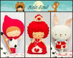Wonderland Pattern: Queen of the hearts Card soldier von Noialand