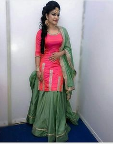 Book your dress now. Completely stitched outfits Customized in all colors Like Share Comment Tags For booking your dress please dm. Customize it as per your choice. Patiala Suit Designs, Kurta Designs, Blouse Designs, Dress Designs, Punjabi Fashion, Indian Fashion, Muslim Fashion, Indian Designer Suits, Designer Kurtis