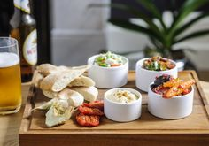 Tapas from the Bar and Lounge Menu at The Magdalen Chapter, Exeter