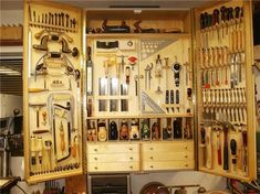 Quick-to-Make Tool Cabinet #woodworkinghandtoolsbench