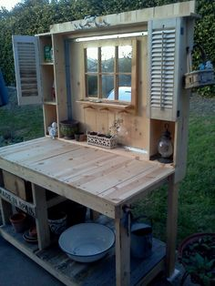1000 images about garden potting benches on pinterest - Craigslist modesto ca farm and garden ...