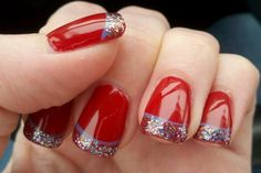 Red New Nail Art Designs 2013 - http://naildesignguide.com/red-new-nail-art-designs-2013/?Pinterest