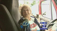 97-year-old great-grandmother checks 'drive big rig' off her bucket list