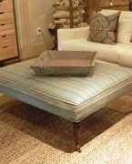 inspiration photo for my pallet ottoman; Interior Philosophy - Favorites