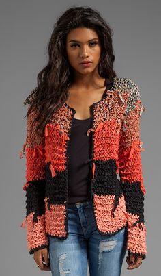 Crochet Patterns Sweaters Tigerlily Ginna Cardi in Goa Crochet Coat, Crochet Cardigan Pattern, Crochet Jacket, Crochet Clothes, Knit Cardigan, Coat Patterns, Clothing Patterns, Knitting Patterns, Crochet Patterns