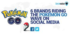 Let's take a look at how some brands have tried to capitalize on the Pokémon Go trend and snag some extra social media exposure.