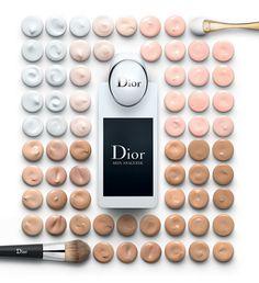 Новый прибор для анализа состояния кожи Dior Skin Analyser