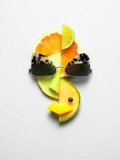 Food Art by Philip Karlberg. #foodart #sunglasses #philipkarlberg