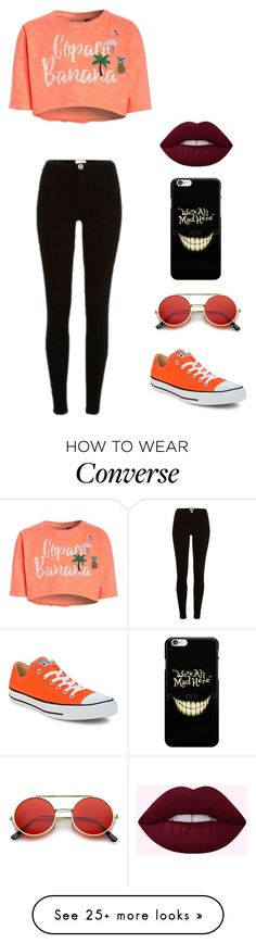 """SUMMA"" by luka1207 on Polyvore featuring River Island and Converse"