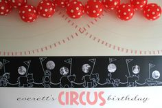 E TELLS TALES: everett's circus birthday party: part one