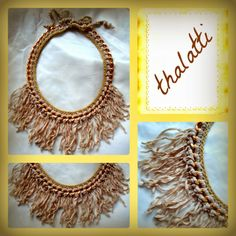 Θαλάττη: Statement necklace