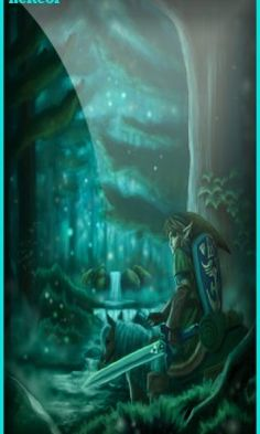 Fondo legend of zelda the lost woo para celular