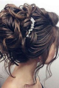 Kids Hair Styles - Idée Tendance Coupe & Coiffure Femme 2018 : Description nice Coiffure de mariage 2017 – Beautiful updo wedding hairstyle for long hair perfect for any wedding venue – T… Wedding Hairstyles For Long Hair, Bride Hairstyles, Ponytail Hairstyles, Hairstyle Wedding, Elegant Hairstyles, Wedding Curls, Black Hairstyles, Wedding Updos For Shoulder Length Hair, Teenage Hairstyles