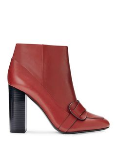 Meghan - this heel is too high but otherwise I LOVE this color and the boot too - Tory Burch Bond Bootie Fall Shoes, Summer Shoes, Tory Burch, Shoe Boots, Ankle Boots, All About Shoes, Types Of Shoes, Designer Shoes, Me Too Shoes