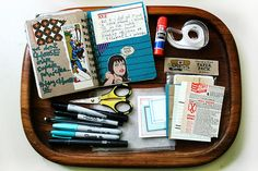 All about Art Journals, what goes in it, what it contains, dos & don'ts, supplies...