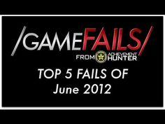 Πολύ καλό! Game Fails: Best 5 fails of June 2012