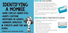 Ok ladies...Halloween is over and it's time to retire the Mombie look. Treat yourself to R+F's Multi-Function Eye Cream and Eye Cloth combo. Enroll in our PC Perks Program and save 10% and get Free Shipping!!! Your MOMBIE EYES will thank you! This is some serious #eyecrack! It's the same eye cream that R+F has sold out of 3 times in the last 6 months. YES, it's that good! 60 DAY EMPTY JAR GUARANTEE! #eyecrack #RFBelievers