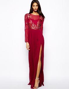 Loveit!! Virgos Lounge Jasmine Embellished Maxi Dress